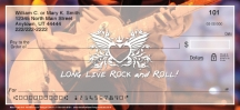 Click on Rock and Roll Personal Checks For More Details