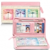 Click on Dragonflies Genuine Leather Zippered Checkbook Cover Wallet For More Details
