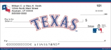 Click on Texas Rangers(TM) MLB(R) Logo Personal Checks For More Details