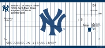 Click on New York Yankees(TM) MLB&reg Logo Personal Checks For More Details