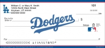 Click on Los Angeles Dodgers(TM) MLB(R) Logo Checks For More Details