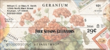 Click on Vintage Seed Packets Personal Checks For More Details