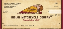 Click on Indian Motorcycle Personal Checks For More Details