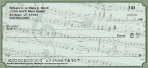 Click on Sheet Music Personal Checks For More Details