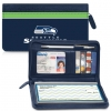 Click on Seattle Seahawks NFL Zippered Wallet For More Details