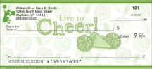 Click on Live to Cheer Personal Checks For More Details