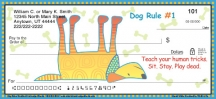 Click on Dog Wisdom Personal Checks For More Details