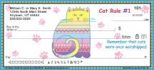 Click on Cat Wisdom Personal Checks For More Details