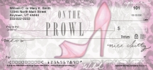 Click on Kick Up Your Heels Personal Checks For More Details
