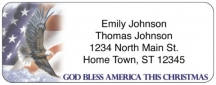 Click on All American Christmas Return Address Label For More Details