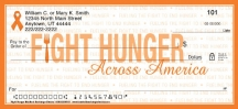Click on Fight Hunger Personal Checks For More Details