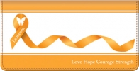 Click on Leukemia Awareness Checkbook Cover For More Details