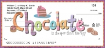 Click on Live for Chocolate Personal Checks For More Details