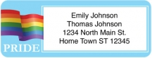 Click on LGBT Pride Return Address Label For More Details