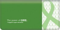 Click on Organ Donation Checkbook Cover For More Details