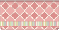 Click on Quatrefoil Checkbook Cover For More Details