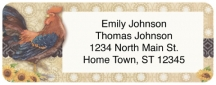 Click on Roosters Return Address Label For More Details