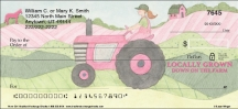 Click on Farm Girl Personal Checks For More Details