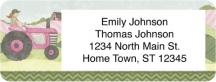Click on Farm Girl Return Address Label For More Details