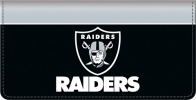 Click on Oakland Raiders NFL Checkbook Cover For More Details