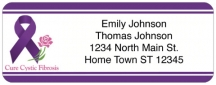 Click on Cystic Fibrosis Awareness Return Address Label For More Details