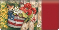 Click on American Blossoms Checkbook Cover For More Details
