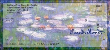 Click on Monet: Nature Personal Checks For More Details