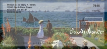 Click on Monet: Seascapes Personal Checks For More Details