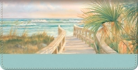 Click on A Walk on the Beach Checkbook Cover For More Details