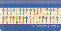 Click on Keys of Life Checkbook Cover For More Details