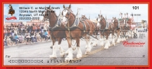 Click on Budweiser Clydesdales Checks For More Details