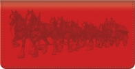Click on Budweiser Clydesdales Checkbook Cover For More Details