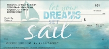 Click on Let Your Dreams Set Sail Personal Checks For More Details