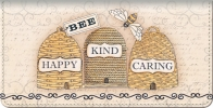 Click on Bee as Sweet as Honey Checkbook Cover For More Details