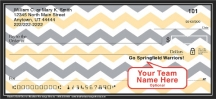 Click on Black & Gold Chevron Personal Checks For More Details