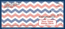 Click on Blue & Red Chevron Personal Checks For More Details