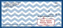 Click on Blue & White Chevron Personal Checks For More Details