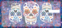 Click on Day of the Dead Personal Checks For More Details