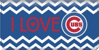 Click on I Love the Cubs Chevron Checkbook Cover For More Details