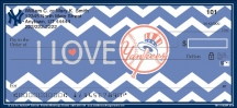 Click on I Love the Yankees(TM) Checks For More Details
