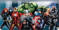 Click on Avengers Checkbook Cover For More Details