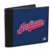 Click on Cleveland Indians(TM) MLB(R) Logo Men's  RFID  Wallet Personal Checks For More Details