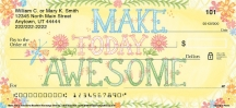 Click on Make Today Awesome Personal Checks For More Details
