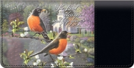 Click on On the Wings of Faith Checkbook Cover For More Details