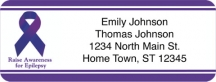 Click on Epilepsy Awareness Return Address Label For More Details