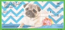 Click on Chevron Pug Personal Checks For More Details