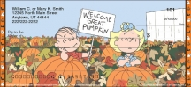 Click on Peanuts - It's the Great Pumpkin Personal Checks For More Details