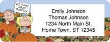 Click on Peanuts - It's the Great Pumpkin Address Labels For More Details