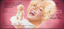 Click on Marilyn Monroe(TM) Personal Checks For More Details