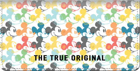 Click on Mickey Mouse - The True Original Checkbook Cover For More Details
